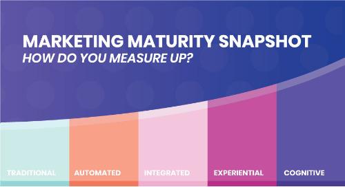 Marketing Maturity Snapshot: How Do You Measure Up?
