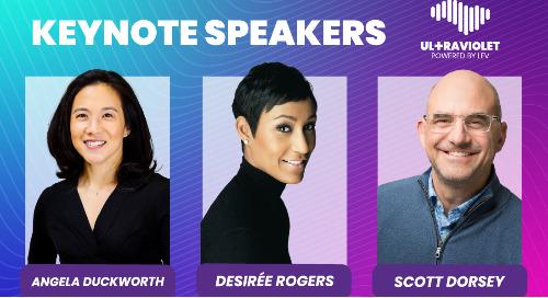 Introducing the Ultraviolet Keynote Speakers!