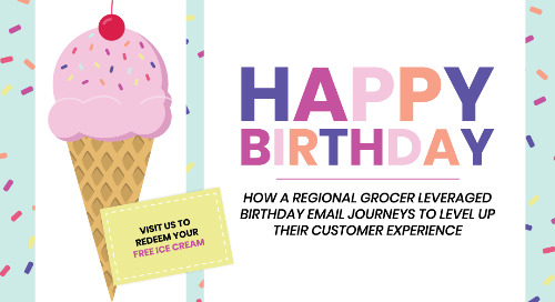 A Seriously Sweet ROI: How a Regional Grocer Used Birthday Email Journeys