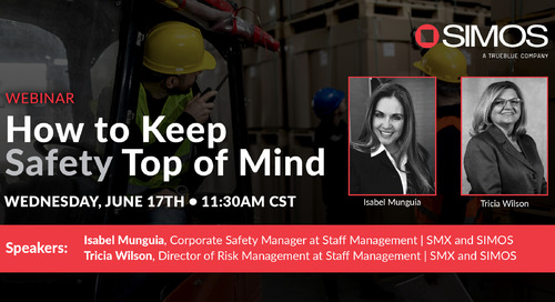 How to Keep Safety Top of Mind: An Interactive Q&A Webinar with SIMOS