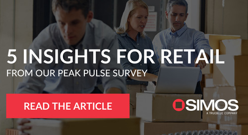 5 insights for retail from our Peak Pulse Survey