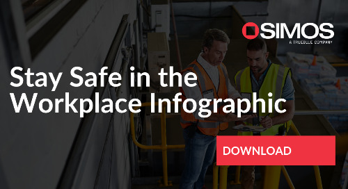Stay Safe in the Workplace Infographic
