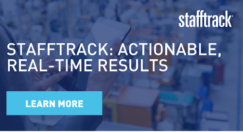 Stafftrack: Actionable real-time results