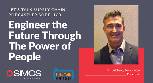 Let's Talk Supply Chain Podcast Episode featuring Harold Baro
