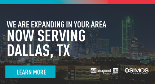 We're expanding in the Dallas-Fort Worth area