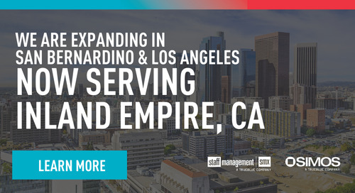 We're expanding in the greater Los Angeles area