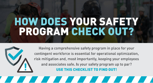 Safety Program Checklist