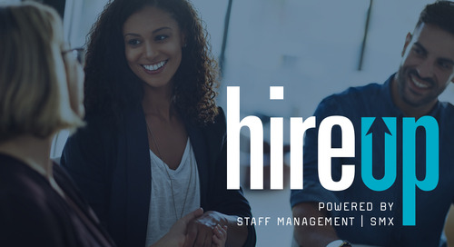 Introducing HireUp powered by Staff Management | SMX
