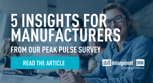 5 insights for manufacturers from our Peak Pulse Survey