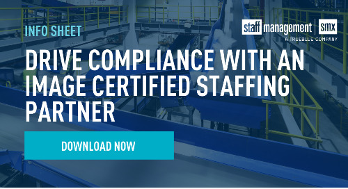 Drive Compliance with an IMAGE Certified Staffing Partner Info Sheet