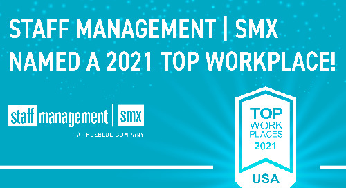 Staff Management | SMX Among TrueBlue Companies to Win Top Workplaces in USA Award
