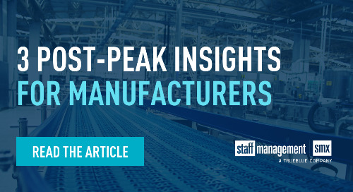 3 post-peak insights for manufacturers