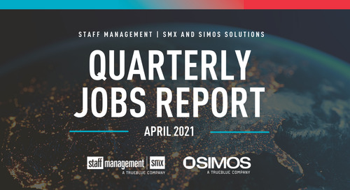 Manufacturing roles join vaccine delivery related work as top supply chain jobs this spring say Staff Management | SMX and SIMOS Solutions