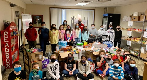 Staff Management | SMX teams up with local schools to help the homeless