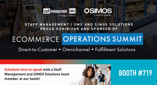 Join us for eCommerce Operations Summit 2021 at Booth #719