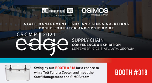 Join us for CSCMP Edge 2021 at Booth #318