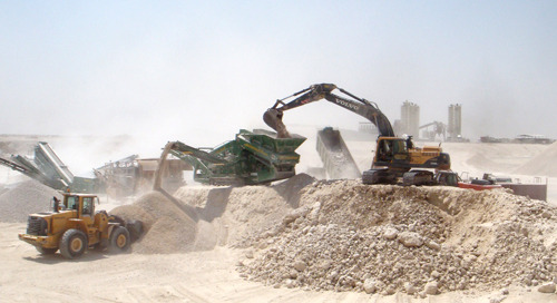 Qatar Quarry Production Uses LOADRITE MMS for Measurement Accuracy