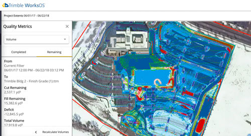 Trimble WorksOS Helps Connect Pivotal Construction Workflows