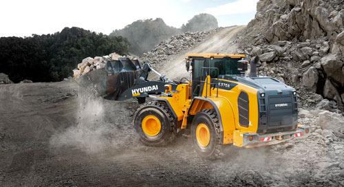 Hyundai Construction Equipment to offer Trimble's loader onboard scales