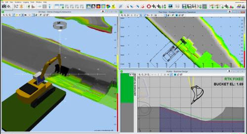 Trimble Marine Construction Software Supports Corps' Dredge Quality Management Program