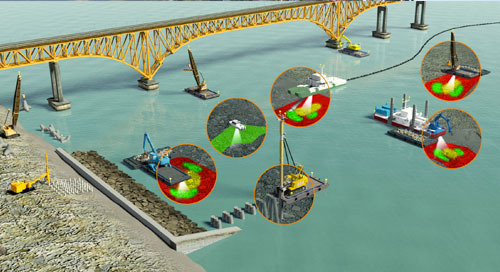 Improving Marine Construction Productivity with 3D Visualization Systems