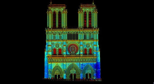 Total stations, laser scanners come to forefront in rebuilding and restoration of Notre Dame