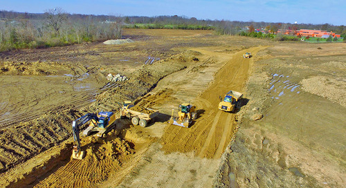 D&M Excavating Completes Site Work with One Machine Instead of Two  Using Trimble Earthworks Grade Control Platform