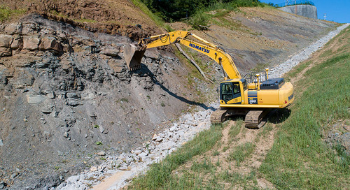 Site Contractor Gains 'Automatic' Productivity Edge  With Trimble Earthworks Grade Control Platform
