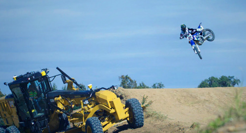 Machine Control and Motocross Find Common Ground