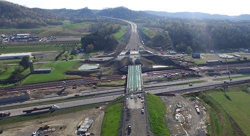 The Beaver Excavating Company Leverages Trimble Earthworks for 20% Faster and More Accurate Excavation of Ohio's Portsmouth Bypass