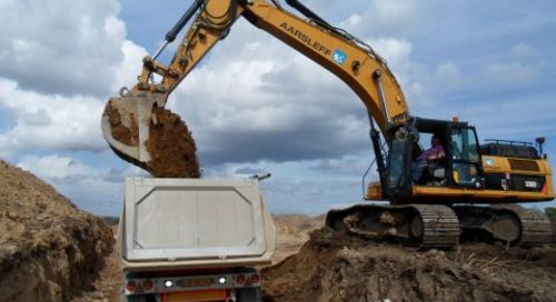 Danish Contractor Saves Time and Money Using Trimble LOADRITE Weighing System