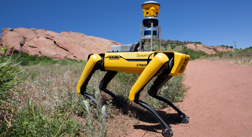 Trimble Partners With Boston Dynamics on Robot Dog for Site Documentation