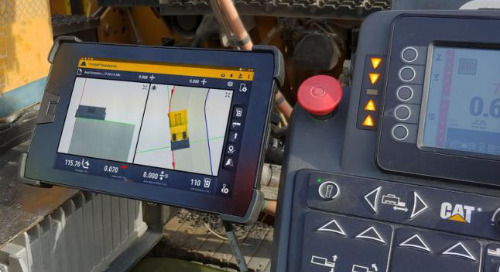 Trimble Rolls Out Next Generation 3D Paving Control for Asphalt Pavers