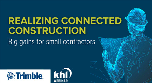 [WEBINAR] Realizing Connected Construction - Part 2