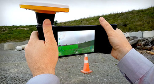 Trimble unveils Sitevision device for viewing jobsite progress in 3D augmented reality