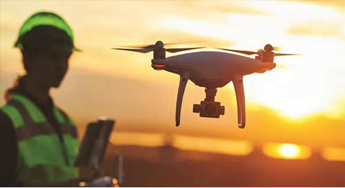 Using drones for landfill monitoring