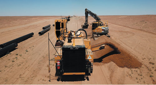 Trench Guidance Keep Pipeline Replacement Project Aligned