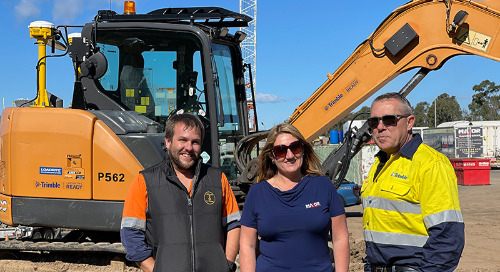 Training Leader Looks to Fill the Technology Gap on Heavy Equipment