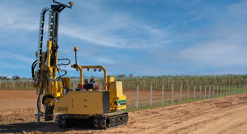 Australian-First Machine Innovation Saving Time and Money for Vineyard Operator
