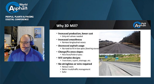 Technology improving paving: 3D machine control and beyond