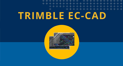 Trimble EC-CAD Infographic