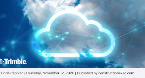 Increasing Productivity, Collaboration and Efficiency: Cloud-Based Estimating's Time to Shine