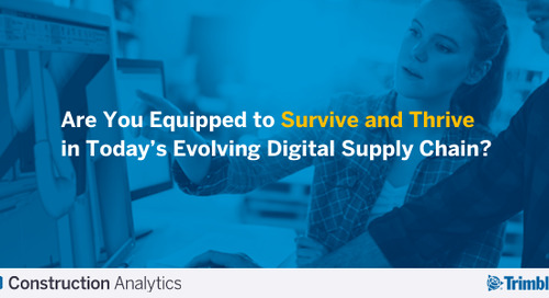 Are You Equipped to Survive and Thrive in Today's Digital Supply Chain?