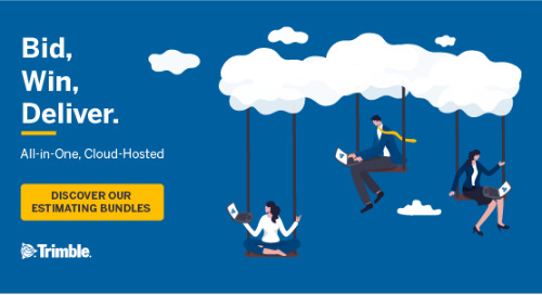 Bid, Win, Deliver with Trimble's new Cloud-Hosted  Estimating Bundles