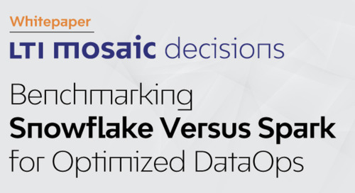 Optimize your Data Operations with Snowflake and LTI Mosaic Decisions