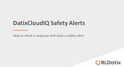 DatixCloudIQ Safety Alerts: Checking responses and closing a safety alert