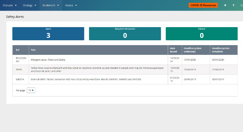 RLDatix - DatixCloudIQ Safety Alerts Module Guide