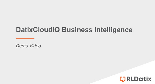 DatixCloudIQ Business Intelligence Demo Video