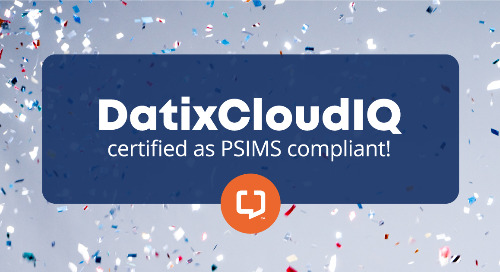 DatixCloudIQ Now Certified as PSIMS Compliant