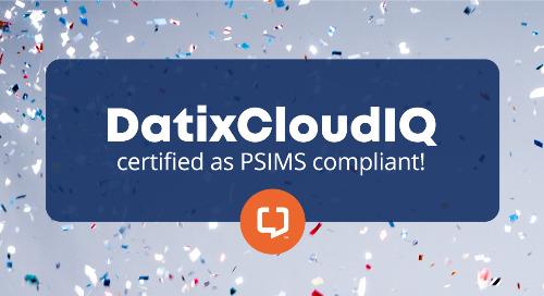 DatixCloudIQ Now Certified as PSIMS Compliant